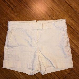 CYNTHIA ROWLEY white patterned shorts